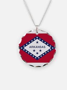 Flag of Arkansas Necklace