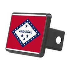 Flag of Arkansas Hitch Cover