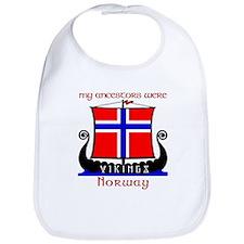 Norwegian Viking Ancestors Bib