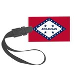 Flag of Arkansas 1923–1924 Large Luggage Tag