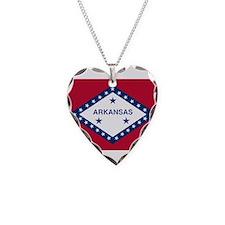 Flag of Arkansas 1913–1923 Necklace
