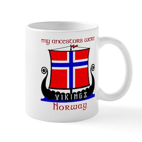 Norwegian Viking Ancestors Mug