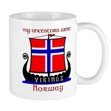Norwegian Viking Ancestors Small Mug