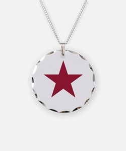 Ca Lone Star Flag Necklace