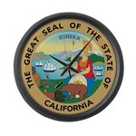 Great Seal of California Large Wall Clock