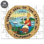 Great Seal of California Puzzle