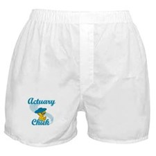 Actuary Chick #3 Boxer Shorts