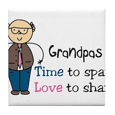 Grandpas Tile Coaster