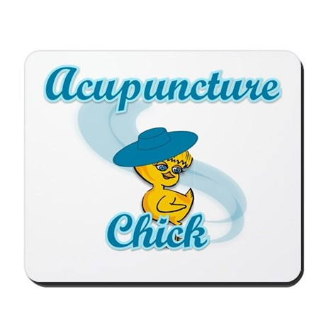 Acupuncture Chick #3 Mousepad