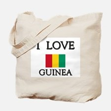 I Love Guinea Tote Bag