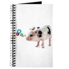 Cute Tea cup pig Journal