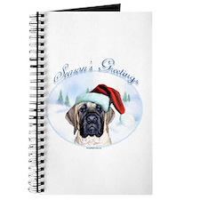 Mastiff Season's Greetings Journal