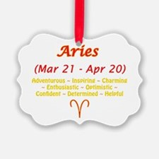 Aries Description Ornament