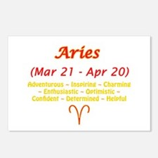 Aries Description Postcards (Package of 8)