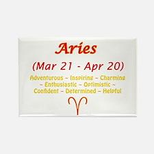 Aries Description Rectangle Magnet