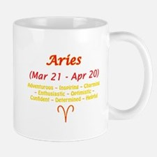 Aries Description Mug