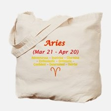 Aries Description Tote Bag