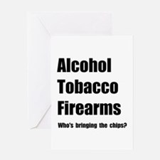 ATF Chips Greeting Card