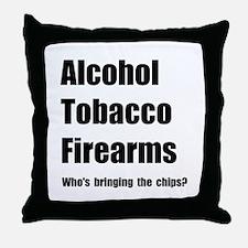 ATF Chips Throw Pillow