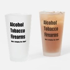 ATF Chips Drinking Glass