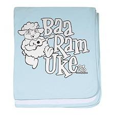 Baa Ram Uke baby blanket