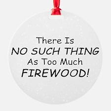 Wood stove Ornament