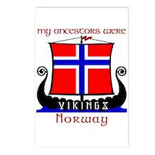Norwegian Viking Ancestors Postcards (8)