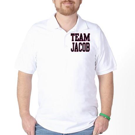 Team Jacob pink Golf Shirt