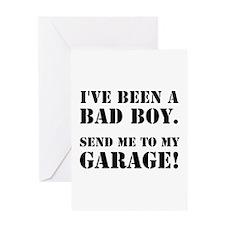 Bad Boy Garage Greeting Card