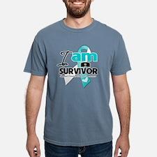 Cute Cervical cancer survivor Mens Comfort Colors Shirt