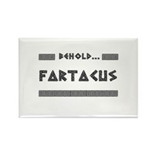 Behold Fartacus Rectangle Magnet (10 pack)