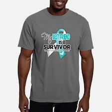 Unique Cervical cancer survivor Mens Comfort Colors Shirt