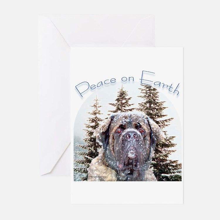 Mastiff Peace Greeting Cards (Pk of 10)