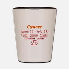 Cancer Description Shot Glass