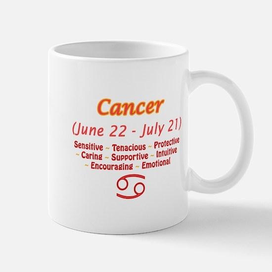 Cancer Description Mug