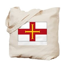 Flag of Guernsey Tote Bag