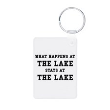 Happens At Lake Keychains