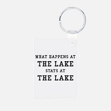 Happens At Lake Keychains