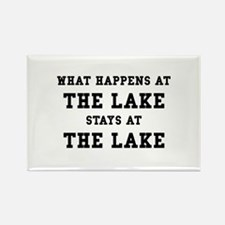 Happens At Lake Rectangle Magnet (10 pack)