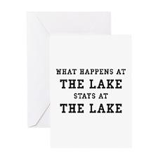 Happens At Lake Greeting Card