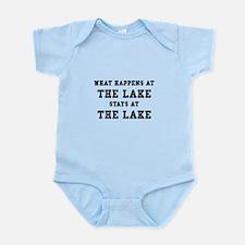 Happens At Lake Infant Bodysuit