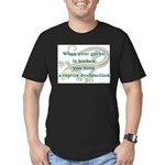 Reptile Dysfunction 4 Men's Fitted T-Shirt (dark)