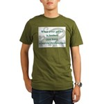 Reptile Dysfunction 4 Organic Men's T-Shirt (dark)
