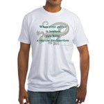 Reptile Dysfunction 4 Fitted T-Shirt