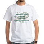 Reptile Dysfunction 4 White T-Shirt