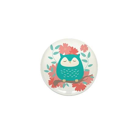 Sweet Owl Mini Button