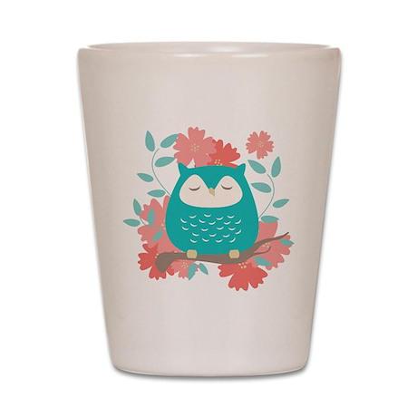 Sweet Owl Shot Glass