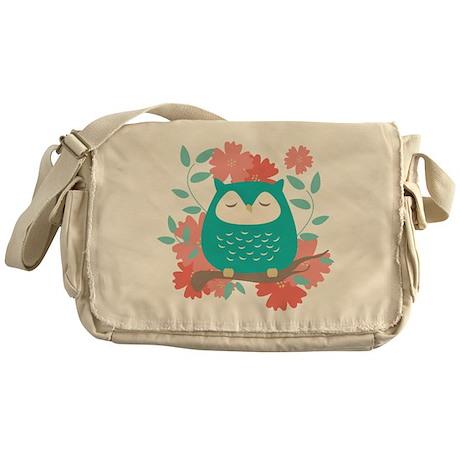 Sweet Owl Messenger Bag
