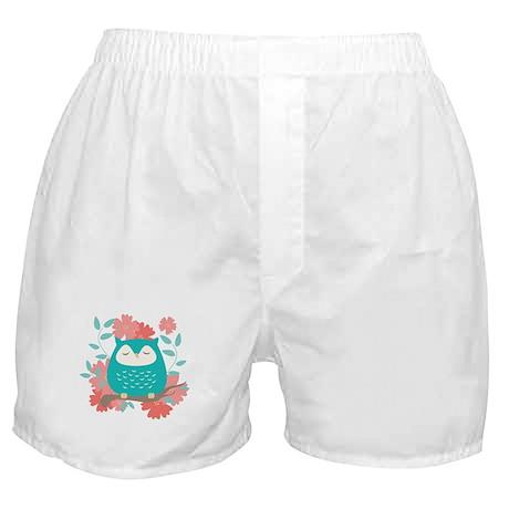 Sweet Owl Boxer Shorts