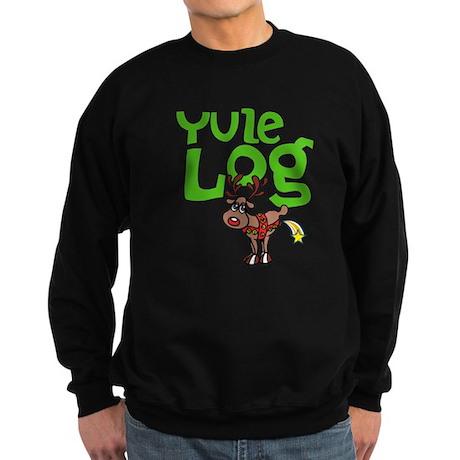 Yule Log Sweatshirt (dark)
